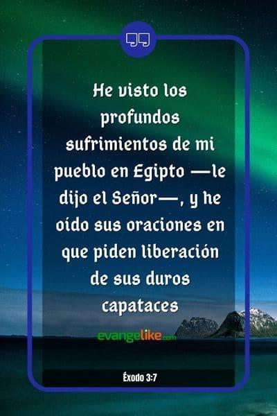 Exodo 3:7