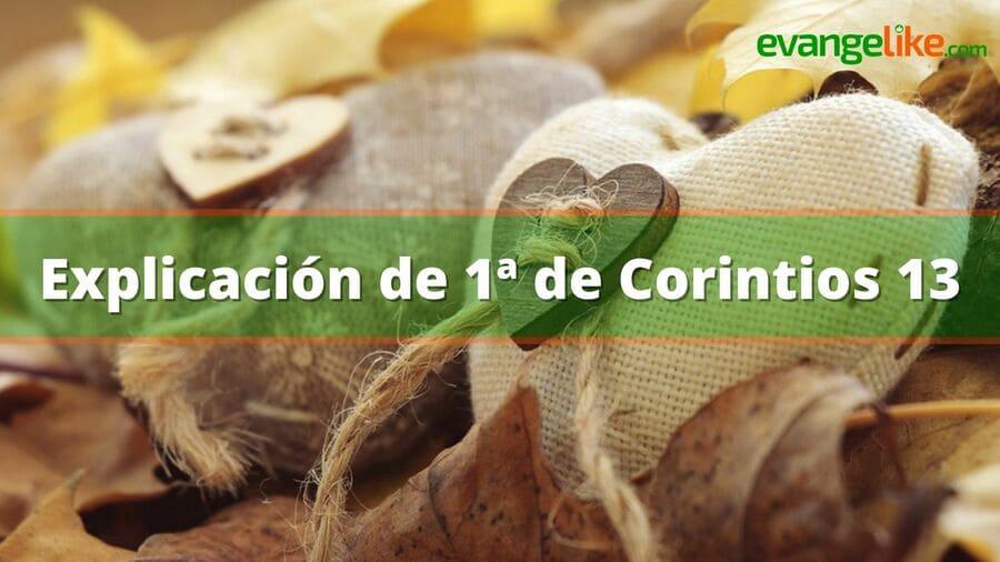 1 corintios 13 explicacion
