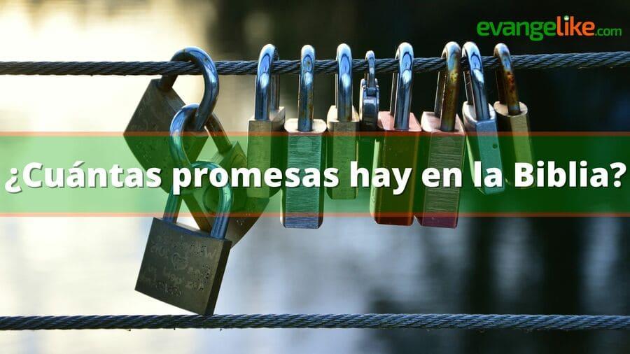 cuantas promesas hay en la biblia