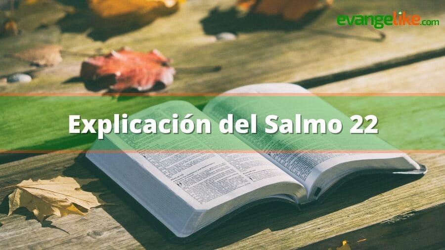 Salmo 22: Explicación del salmo