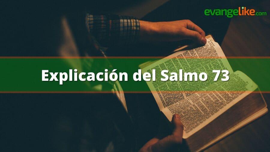 Explicación del Salmo 73