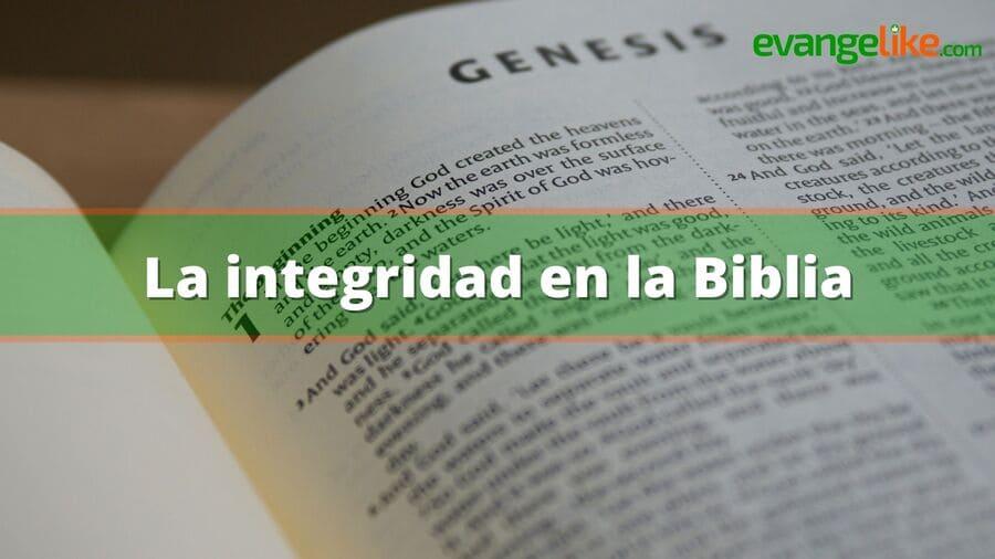 La integridad en la Biblia