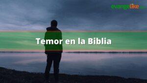 Temor en la Biblia